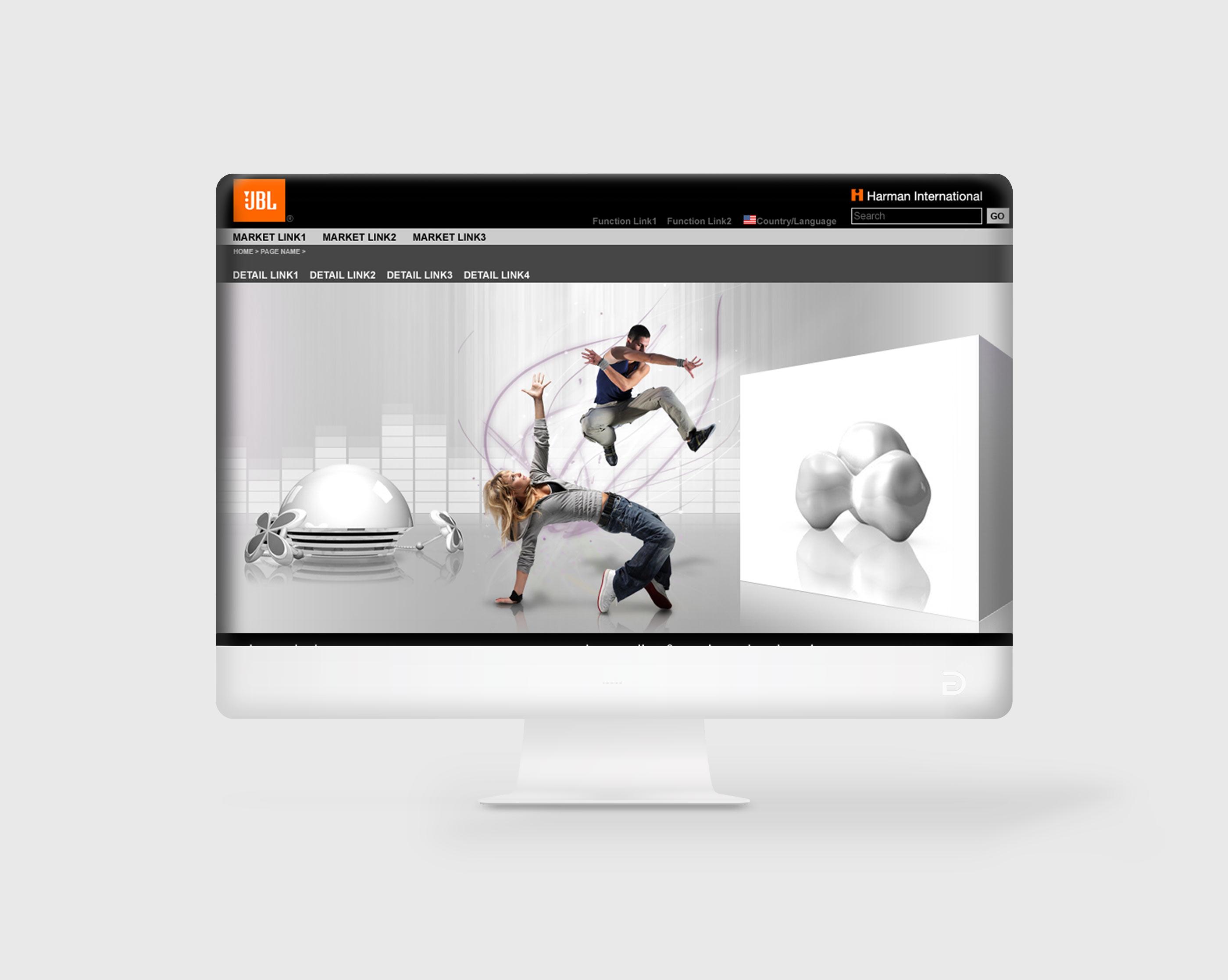 JBL Global Website