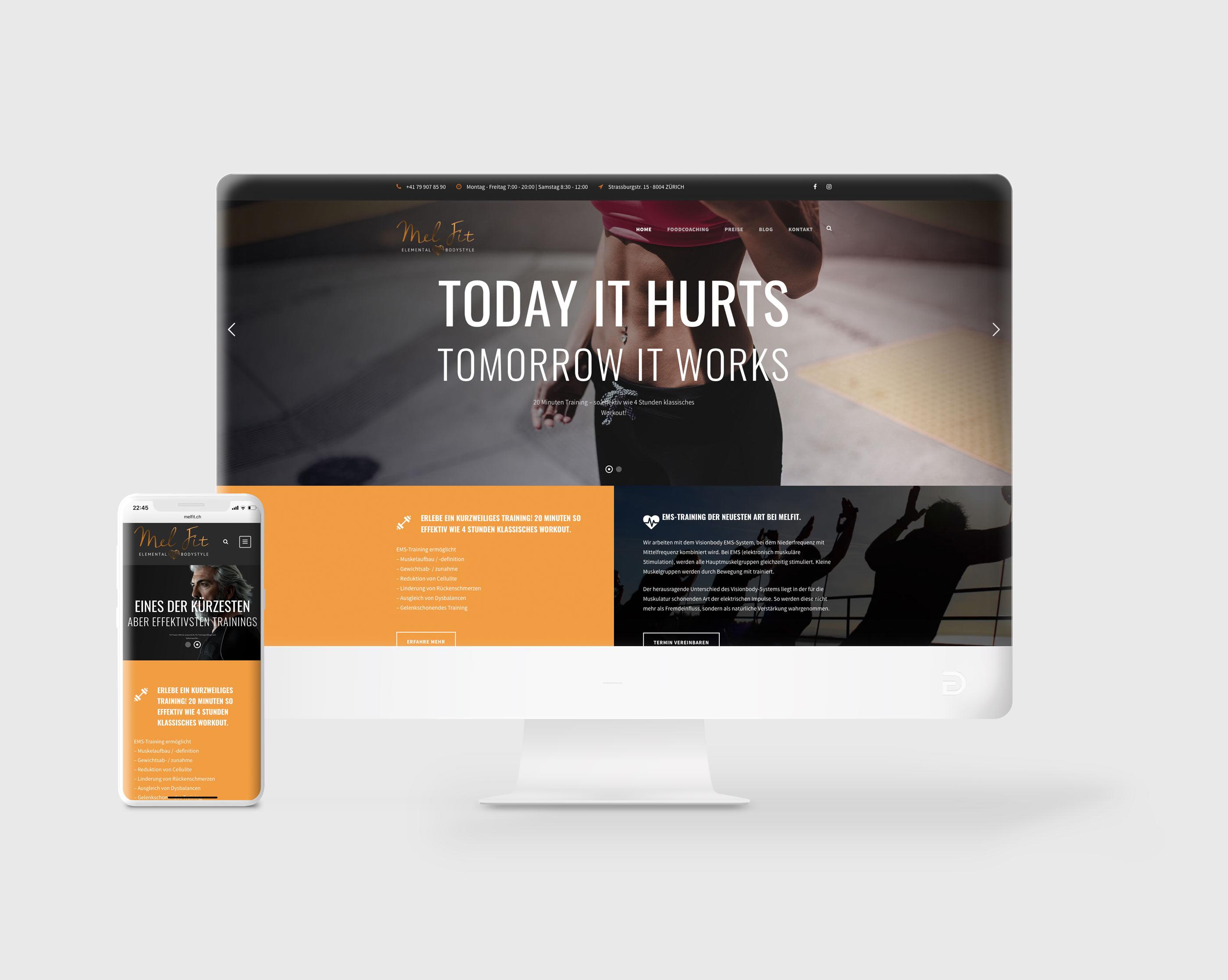 MelFit Website
