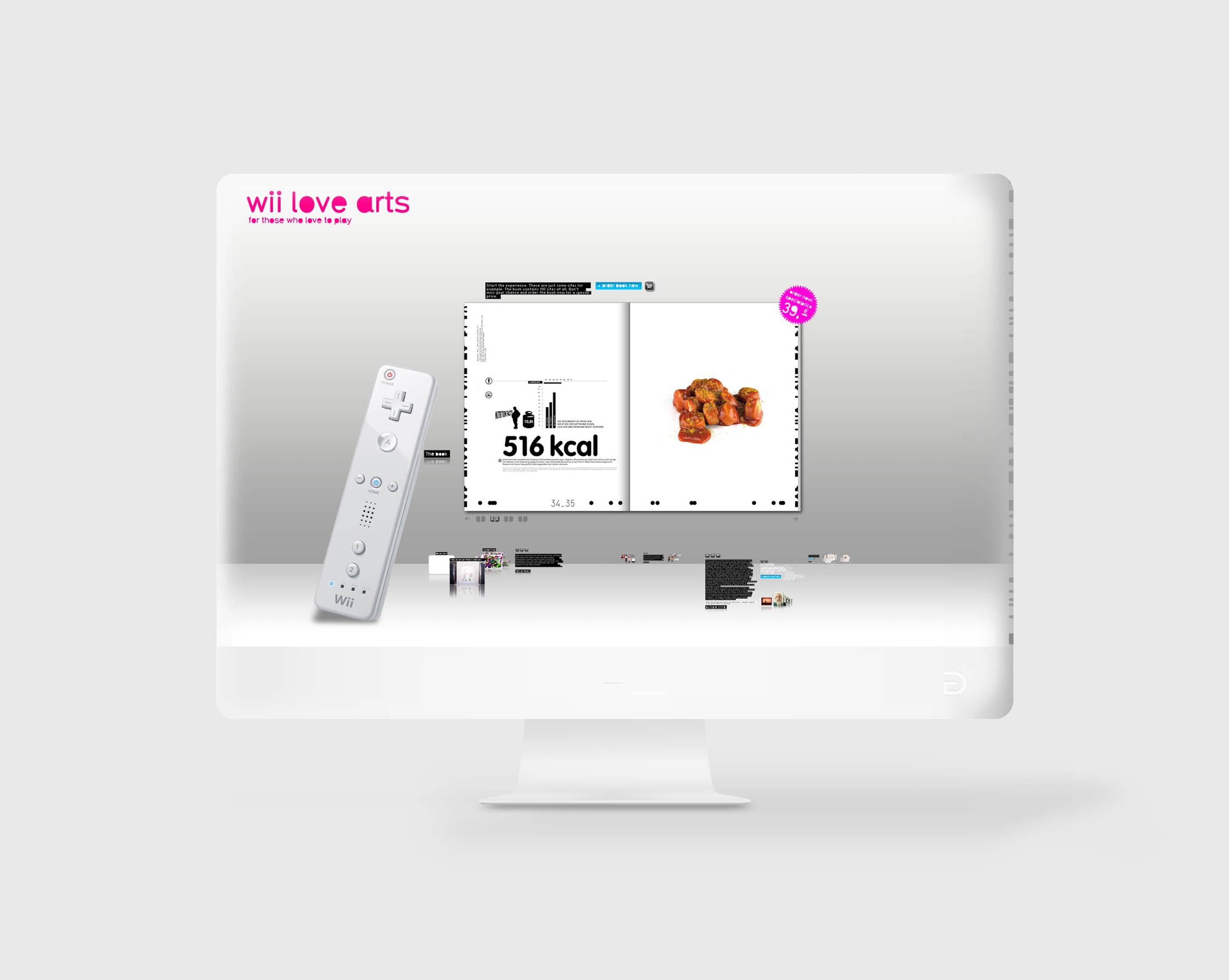 Website wii love arts
