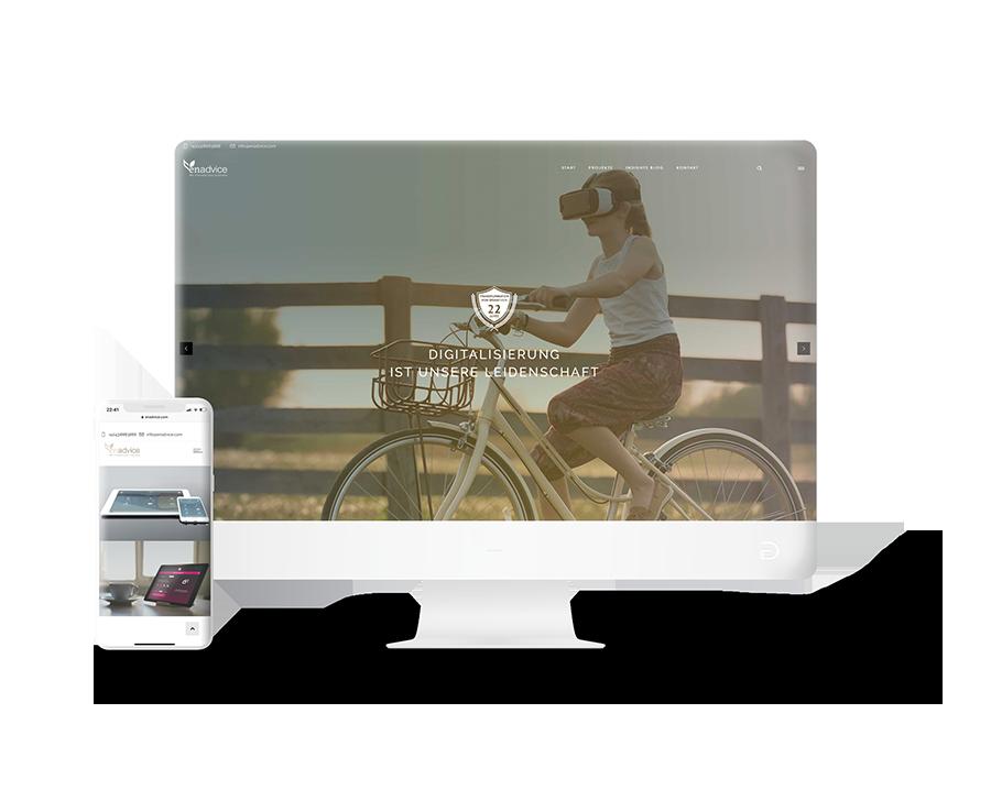 EnAdvice AG Website